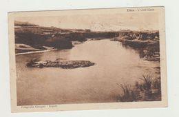 ZLITEN (LIBIA) L'UADI CAAM -COLONIA TRIPOLITANIA 1932 - POSTCARD - Libia