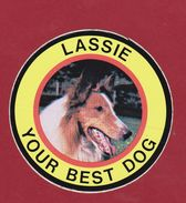 Sticker Autocollant Aufkleber Lassie Rough Collie Dog TV Television Hond Chien Hund Perro - Autocollants