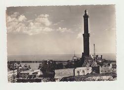 GENOVA - LA LANTERNA - FORMATO GRANDE- VIAGGIATA 1951 - ITALY POSTCARD - Genova