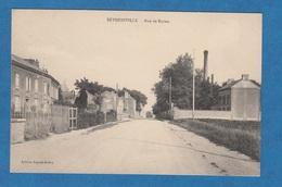 CPA - BETHENIVILLE - Occupation Allemande - Rue De Reims - 21 Septembre 1914 - Cachet Feldpost - Bétheniville