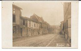 Cpa-photo Grandpré . (Postkarte). - Francia