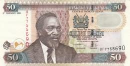 KENYA 50 SHILLINGS 2006 - EF (BA12 - Kenia