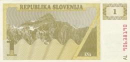 SLOVENIA 1 TOLAR - EF (BA22 - Slovenia