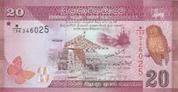 SRI LANKA 20 RUPEES - EF (BA32 - Sri Lanka