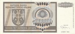SERBIA 5000000 DINARA 1993- UNC (BA62 - Serbia