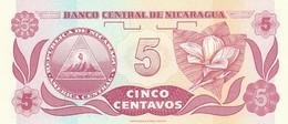 NICARAGUA 5 CENTAVOS -UNC (BA71 - Nicaragua