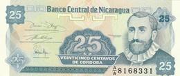 NICARAGUA 25 CENTAVOS -UNC (BA72 - Nicaragua