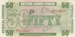 BRITISCH ARMED FORCES -50 NEW PENCE-UNC (BA78 - Emissioni Militari