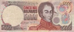 VENEZUELA 500 BOLIVARES 1988- VF (BA92 - Venezuela
