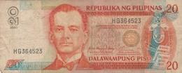FILIPPINE 20 DALAWMPUNG PISO - VF (BA95 - Filippine