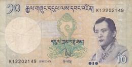 BHUTAN 2006 10 NGULTRUM (BA139 - Bhutan