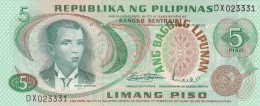 PHILIPPINE 5 PISO -UNC (BA140 - Filippine