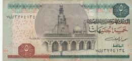 EGITTO 5 POUNDS - VF (BA141 - Egipto