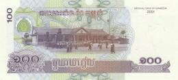 CAMBOGIA 100 -2001 - UNC (BA146 - Cambodia