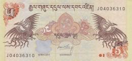 BHUTAN 5 NGULTRUM -EF (BA154 - Bhutan