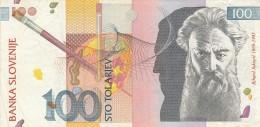 SLOVENIA 100 TOLAREV - EF (BA161 - Slovenia