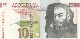 SLOVENIA 10 TOLAREV - AU (BA174 - Slovénie