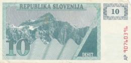 SLOVENIA 10 - VF (BA176 - Slovenia