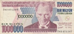 TURCHIA 1 MILIONE - VF (BA179 - Turchia