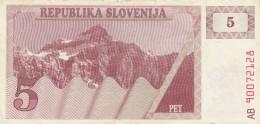 SLOVENIA 5 - VF (BA197 - Slovenia