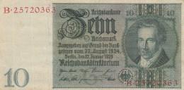 GERMANIA 10 MARCHI 1924 -VF (BA228 - Germania