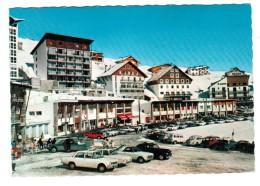 18443    Cpm  LA MONGIE  :  Vue Sur La Station !  Superbe   Carte Photo  !! - Andere Gemeenten