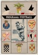 Program * Portugal * Soccer * 1938-1939 * Programa-Football Porto * With A Original Ticket Included - Programs
