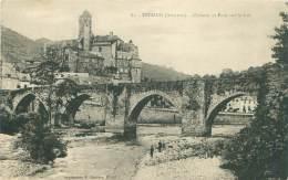 12 - ESTAING - Château Et Pont Sur Le Lot - France