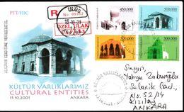 """OD-3016 Cultural Entities F.D.C. """" Registered Mail """" - 1921-... République"""