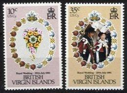BR. VIRGIN ISLANDS, Yv 413/4, ** MNH, VF/XF - Britse Maagdeneilanden