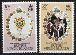 BR. VIRGIN ISLANDS, Yv 413/4, ** MNH, VF/XF - British Virgin Islands