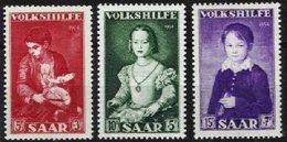 SARRE, Yv 334/6, Mi 354/6, ** MNH, VF/XF, Cat. € 3,00 - 1947-56 Occupation Alliée