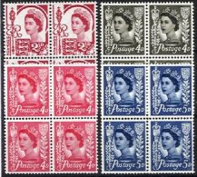 JERSEY, Yv 324A, 525, 531, 537: SG 9, 12/4, (*)/* MNG/MLH, F/VF, Cat. € 3,00 - Jersey