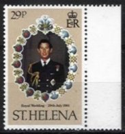 ST. HELENA, Yv 341, ** MNH, VF/XF - Saint Helena Island