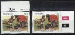 TRANSKEI, Yv 167, ** MNH, VF/XF - Transkei