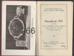 The National Federation Of Fruit & Potato Trades Limited / Handbook 1935. - 1900-1949