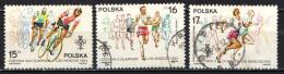 POLONIA - 1984 - OLIMPIADI SDI SARAJEVO E DI LOS ANGELES - USATI - 1944-.... Republic