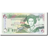 Etats Des Caraibes Orientales, 5 Dollars, Undated (1994), KM:31m, NEUF - Caraïbes Orientales