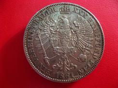 Allemagne - Prusse - Thaler 1861 A 5463 - Taler Et Doppeltaler