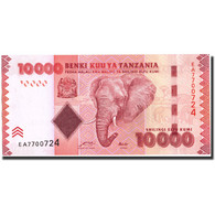 Tanzania, 10,000 Shilingi, 2010, Undated (2010), KM:44, SPL+ - Tanzanie