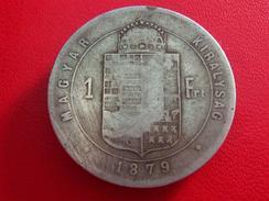 Hongrie - 1 Forint 1879 5473 - Hongrie