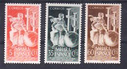 SAHARA  1953. REAL SOCIEDAD GEOGRAFICA .EDIFIL Nº 101/103 .NUEVA SIN  CHARNELA   CECI 2  Nº 70 - Sahara Español