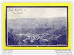 SÃO TOMÉ E PRINCIPE 1910 YEARS ROÇA BOA ENTRADA GENERAL VIEW COCOA CACAO AGRICULTURE AFRICA AFRIKA AFRIQUE POSTCARD - Sao Tome Et Principe