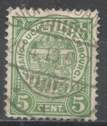 Luxembourg 1907. Scott #78 (U) Coat Of Arms - 1907-24 Ecusson