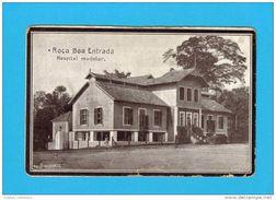 SÃO TOMÉ E PRINCIPE 1910 YEARS ROÇA BOA ENTRADA HOSPITAL MODELAR AFRICA AFRIKA AFRIQUE POSTCARD - Sao Tome Et Principe