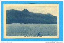 SÃO TOMÉ E PRINCIPE 1910 YEARS PANORAMIC VIEW AFRICA AFRIKA AFRIQUE POSTCARD - Sao Tome Et Principe