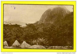 SÃO TOMÉ E PRINCIPE ROÇA DIAS COELHO NATIVE ARCHITECTURE AFRICA AFRIKA AFRIQUE POSTCARD - Sao Tome And Principe