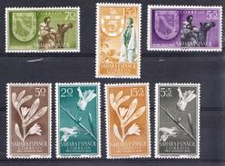 SAHARA  1956. AÑO COMPLETO .EDIFIL Nº 126/132.NUEVA SIN  CHARNELA   CECI 2  Nº 70 - Sahara Español