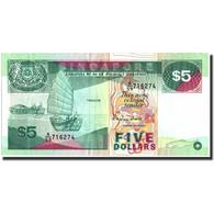 Singapour, 5 Dollars, Undated (1977), KM:35, TTB+ - Singapore