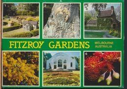 °°° 8086 - AUSTRALIA - MELBOURNE - FITZROY GARDENS - VIEWS - 1995 With Stanps °°° - Melbourne